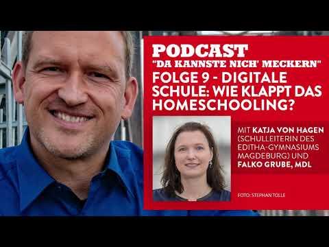 """Podcast """"Da kannste nich´ meckern..."""" - Folge 9 - Digitale Schule: Wie klappt das Homeschooling?"""
