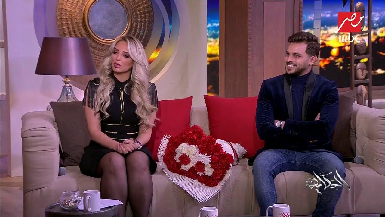 مي حلمي ومحمد رشاد يكشفان أسباب عودتهما وتفاصيل الحفل الثاني لزفافهما