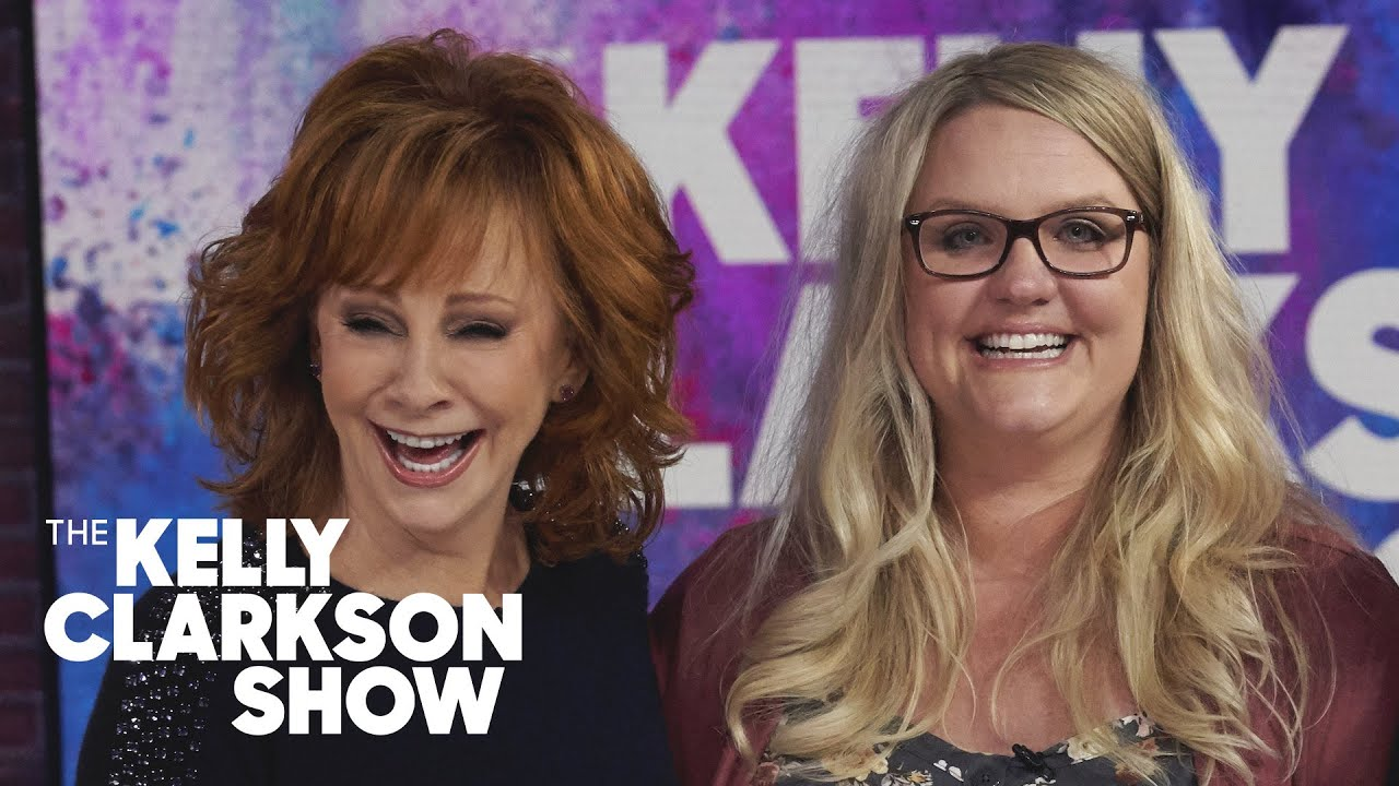 Watch Reba McEntire Surprise A Terminally-Ill Cancer Patient | The Kelly Clarkson Show