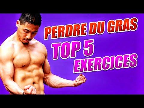 TOP 5 EXERCICES EFFICACES -  Perdre Du GRAS RAPIDEMENT