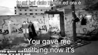 U2 - One ( Lyrics + traduzione ).avi
