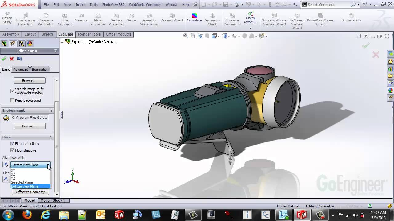 how to floor plan solidworks