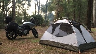 Motorcycle Camping in Central Florida