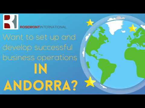 Company Incorporation in Andorra, by Rosemont Andorra, services provided by Rosemont International