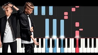 Marcus & Martinus - Next To Me (Piano Tutorial)