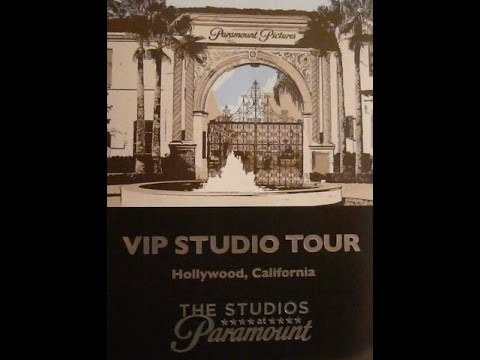 My VIP Tour of Paramount Pictures Studios