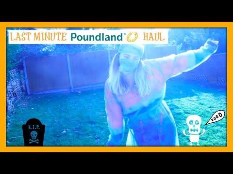 EASY HALLOWEEN COSTUME| Last Minute Poundland Halloween Haul | Abigail