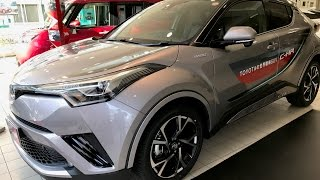 Test Drive a New Car Toyota C-HR 1.8 Hybrid in Tokyo Japan