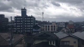 Tufão Jebi atinge violentamente leste do Japão