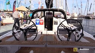 2017 Elan E4 Sailing Yacht - Deck and Interior Walkaround - 2016 Annapolis Sailboat Show