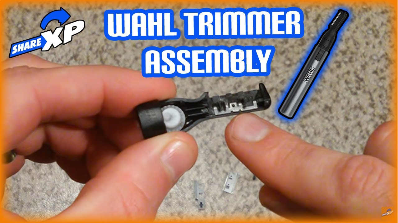 Wahl Body Hair Trimmer Assembly Youtube