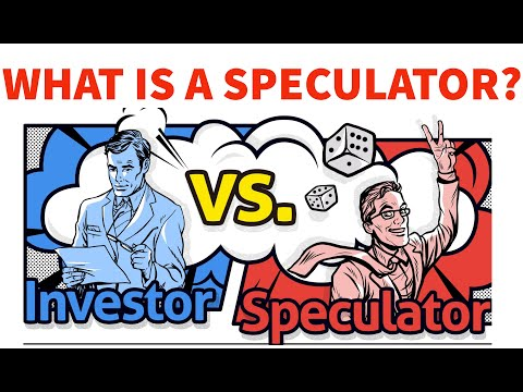What is a Speculator??
