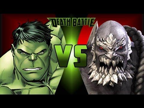Reaction to Death Battle Hulk vs Doomsday - YouTube Doomsday Vs Hulk Death Battle Reaction