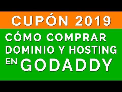 Como comprar un Dominio y Hosting en Godaddy 2019