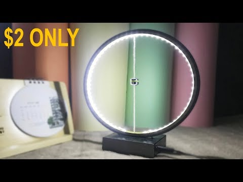 DIY Contour LED TABLE LAMP    From Useless