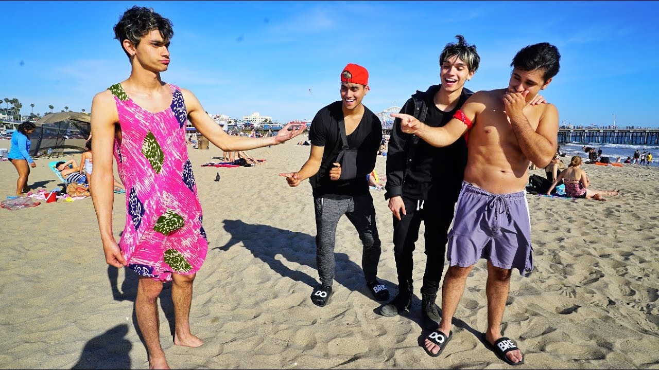 Crazy Dares On The Beach Part