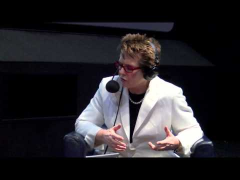 Mark Kermode and Simon Mayo interview Billie Jean King