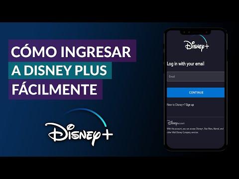 Cómo Ingresar o Acceder a Disney Plus Fácilmente