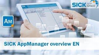 KRANK AppSpace – AppManager Übersicht | SICK AG