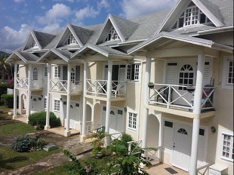 Club Caribbean Court Apartments Runaway Bay Jamaica Youtube