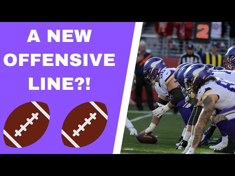 Vikings offensive line battles in training camp!