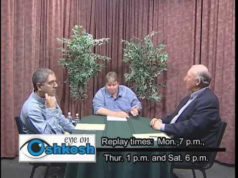 Eye on Oshkosh Outgoing Assemblyman Gregg Underheim, taped 10 5 06