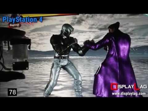 Input Lag Test: Tekken 7 ver. 1.10  - PlayStation 4