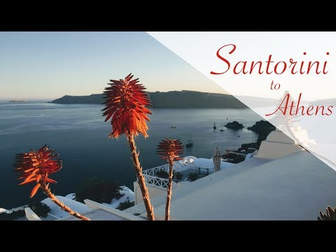 Santorini to Athens in 3 Days - Exploring the Greek Islands