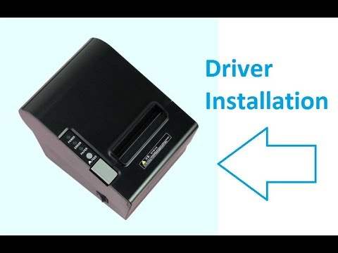 How to Download & Install QQ-8030 Thermal Printer Driver