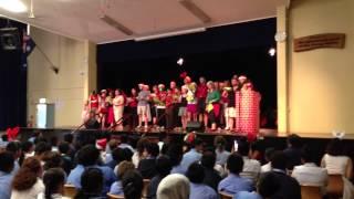 Parramatta High School - We Wish You A Merry Christmas (Staff) - Christmas Concert 2012