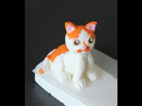 Cat Cake Topper Tutorial