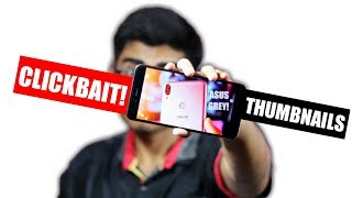 How To Make CLICKBAIT Thumbnails For YouTube On Android Smartphone - 2018