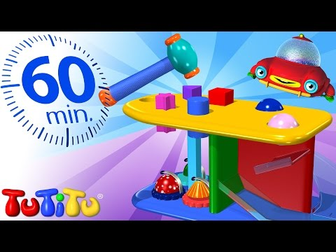 TuTiTu Specials | Hammer Bench Toy | And Other Learning Toys | 1 HOUR Special