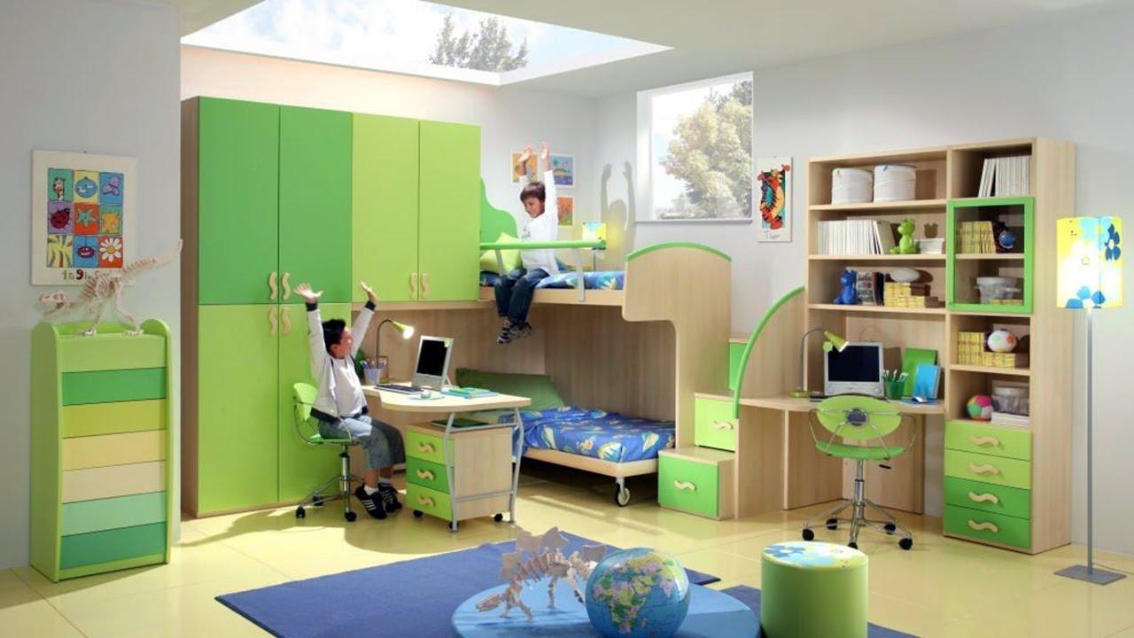 Space Saving Bedroom Furniture Ikea - YouTube