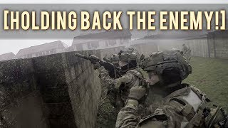 HOLDING BACK THE ENEMY ALL ALONE! | UK AIRSOFT MILSIM