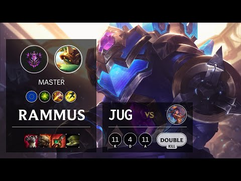Rammus Jungle vs Lillia - EUW Master Patch 10.19