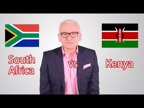 South Africa vs Kenya! Battle of the Emerging Markets...