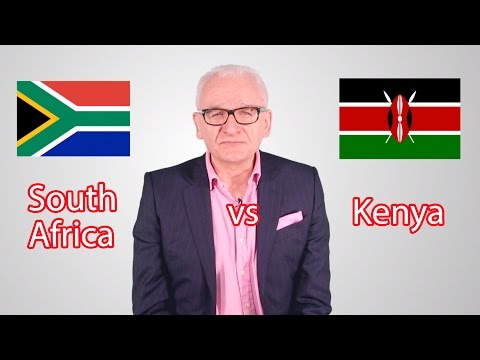 South Africa vs Kenya! Battle of the Emerging Markets...