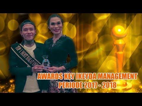 AWARDS KEY IKEYDA MANAGEMENT 2017-2018 ( BIGO LIVE INDONESIA )