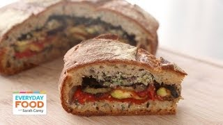 Grilled Ratatouille Muffuletta Sandwich - Everyday Food with Sarah Carey