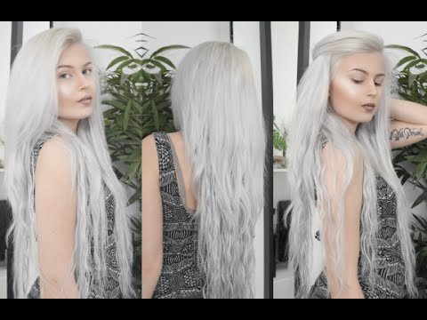 How to: SILVER/WHITE HAIR TUTORIAL