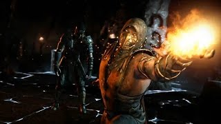 Mortal Kombat X KIT FOREVER KING (Kung Jin) vs MIT (Scorpion) Fatal 8