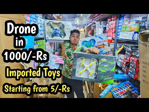 Imported Toy Market Drones, Helicopter, Cars, Football | Wholesale/Retail | VANSHMJ
