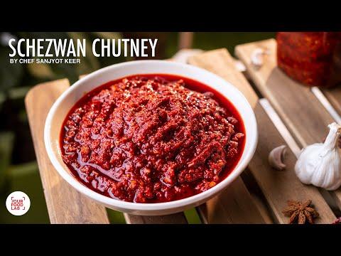 Schezwan Chutney Recipe | Desi Schezwan Sauce | शेजवान चटनी | Chef Sanjyot Keer