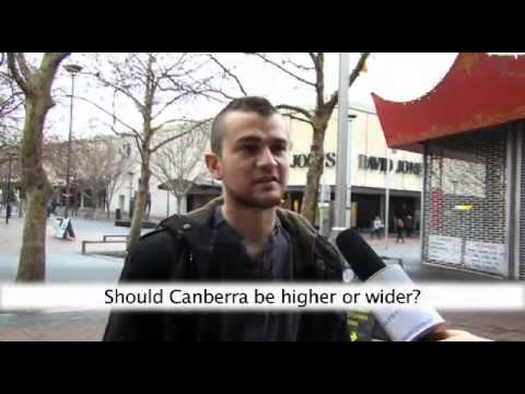 Should Canberra be higher or wider?
