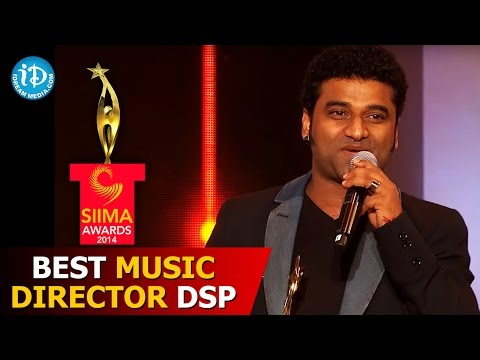 Best Music Director Devi Sri Prasad@SIIMA 2014 Part 7