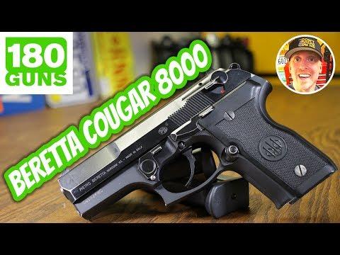 NEW GUN! Beretta Cougar 8000 9mm