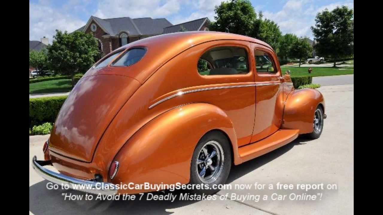 1939 Ford Street Rod Classic Muscle Car for Sale in MI Vanguard ...