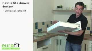 How To Fit Drawer And Door Dampers (Soft Close Options)