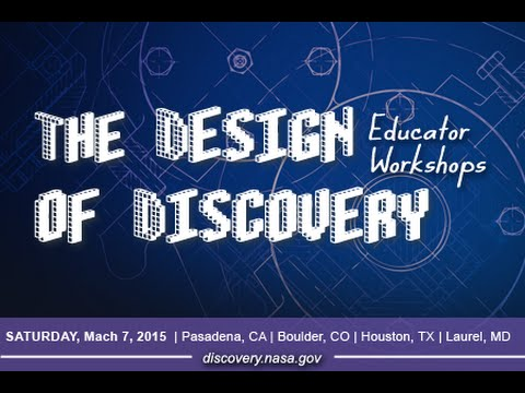 Design of Discovery Educator Workshops - Session 1